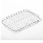 Medium Utility Clear Hinged Container - 8.75 in. x 5.75 in. x 2.63 in.