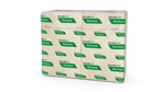 Perform Napkin Interfold 1-Ply Natural Paper - 8.5 in. x 12.63 in.