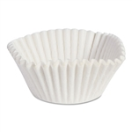Fluted Baking Cups Paper White - 4.75 in.