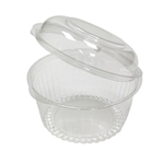 Sho-Bowl with Dome Lid Hinged Container - 16 oz.