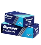 Interfolded Aluminum Foil Sheets - 12 in. x 10.75 in.