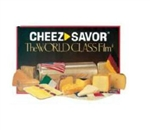 Cheez Savor Film Clear Perf Sheets - 11 in. x 11 in.