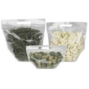Vented Laminated Clear Produce Bag - 9.5 in. x 10 in. x 4 in.
