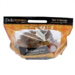Hot N Handy Rotiss Laminated Vented Bag - 12.75 in. x 8.5 in. x 5.5 in.