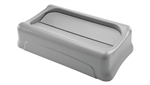 Slim Jim Gray Swing Lid - 20.5 in. x 11.37 in. x 5 in.