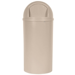 Marshall Container with Lid Beige - 25 Gal.