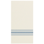 Printed FashnPoint Dinner Napkins Blue and White - 15.5 in. x 15.5 in.