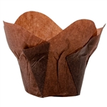 Lotus Baking Large Cups Chocolate Brown - 2 in. x 2.75 in.