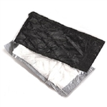 Driloc Pad Black and White Standard Absorbent Pad Compression Pack - 4 in. x 7 in.