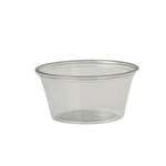 Solo Ultra Clear Souffle PET Portion Containers - 2 Oz.