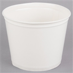 Waxed Double Wrapped Paper Buckets White - 83 Oz.