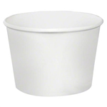 Food Container Paper White - 12 oz.