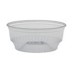 Soloserve Pet Plastic Food Container Clear - 3.5 Oz.