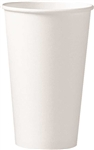 Hot Cup Poly Lined Paper White - 16 Oz.