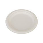 ChampWare Molded Fiber Plates White - 7 in.