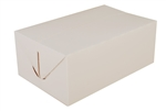 Snack Carry-Out Box Fast Top Paperboard White - 7 in. x 4.5 in. x 2.75 in.