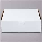 White Non-Window Bakery Boxes - 8 in. x 8 in. x 2.5 in.