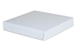White Pizza Boxes Claycoated - 9 in. x 9 in. x 1.5 in.