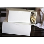 Plain White Non-Window Bakery Boxes - 10 in. x 10 in. x 5.5 in.