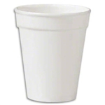 White Foam Cup - 10 Oz.