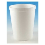 White Foam Hot and Cold Food Container - 32 oz.
