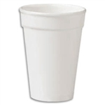 Compac High Sheen Hot and Cold White Foam Cup - 16 oz.