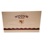 Windsor Place Boxed Facial Tissue 2-Ply 100-Sheets - 7.5 in. x 8 in.