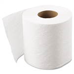 White 1 Ply Toilet Tissue - 4.1 in. x 3.1 in.