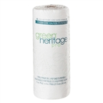 Green Heritage Kitchen Roll Towel 2 Ply White - 11 in. x 8 in.