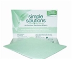 Simple Solutions Sanitizer Towel Green - 16.75 in. x 13.25 in.