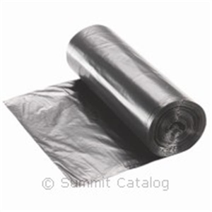 Recycled Polyethylene Coreless Roll Can Liner Black - 40-45 Gal.