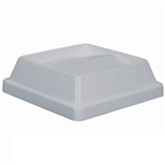 Tip-Top Lid Gray  For B25 and B32 Trash Container
