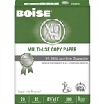 92 Bright White 20 lb. Copy Paper - 8.5 in. x 14 in.