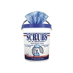 Scrubs In-a Bucket Hand Cleaner Towels - 6.37 in. x 6.37 in. x 7.75 in.