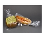 Clear Unprint Polypropylene Bread Bag - 9 in. x 28.5 in.