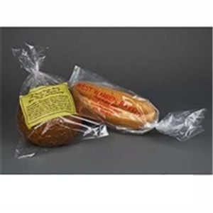 Bread Bag 0.85-MIL Clear Unprinted - 12 in. x 16 in. + 4 in.