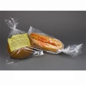 Unprinted Poly Bread Bags 1 Mil Clear - 15 in. x 22 in.