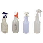 Delimer Polypropylene Spray Bottle Only - 32 oz.