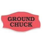 Ground Chuck-PSFR Label - 1.56 in. x 0.81 in.