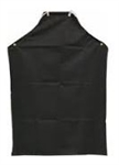 Hycar Black Neck Cloth Apron - 36 in. x 48 in.