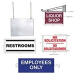 White Polystyrene Sign Mold - 30 in. x 19 in.
