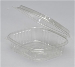 Clear Deli High Dome Hinged Lid For Container - 24 Oz.
