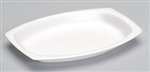 Celebrity Foam Platter Non-Laminated White - 7 in. x 9 in.