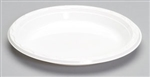 Aristocrat Plastic Plate White - 9 in.