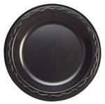 Plate Foam Black - 10.25 in.