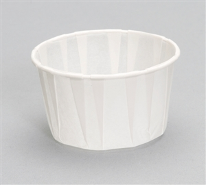 Portion Cup Paper White - 3.25 oz.
