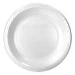 Celebrity Foam Plate Non-Laminated White - 8.88 in.
