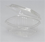 Hinged Deli High Dome Clear - 12 Oz.
