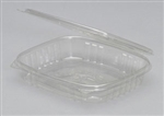 Shallow Hinged Deli Container Clear - 16 Oz.