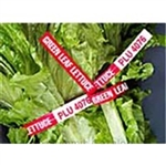 Bunch Radish Plu 4089 Vp Tie Green - 8 in. x 0.38 in.